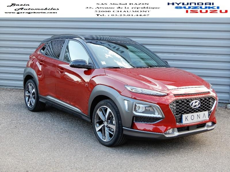Hyundai Kona 1.0 T-GDi 120ch FAP Executive Essence PULSE RED Occasion à vendre